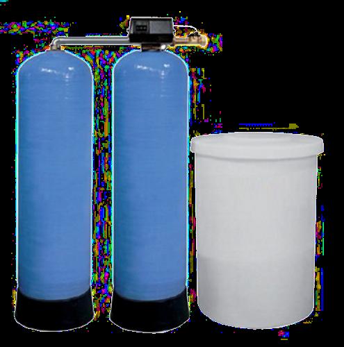 Wasserenthärtungsanlage - Doppel 9500SXT-2x500
