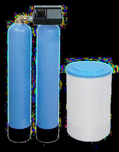 Wasserenthärtungsanlage - Doppel 9000SXT-2x20