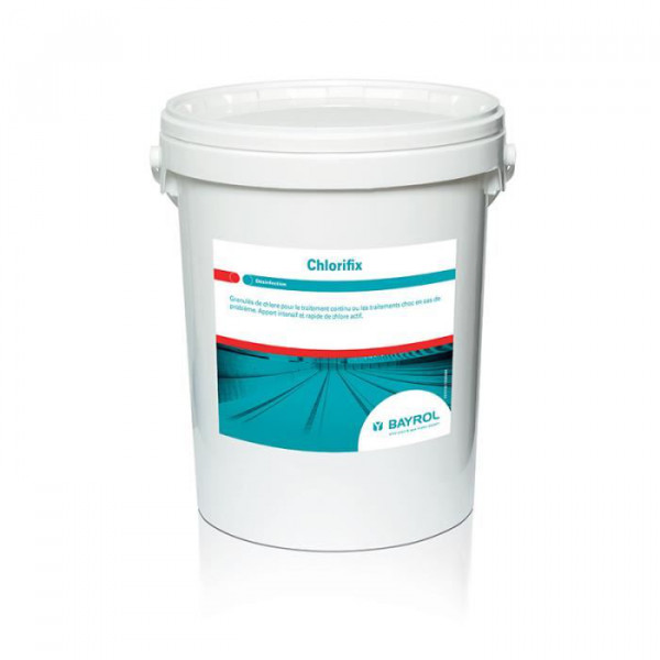 Chlorifix Chlorgranulat, 25kg-Behälter