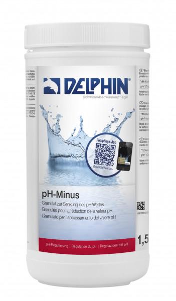 pH-Minus Granulat, 1,5 kg Dose